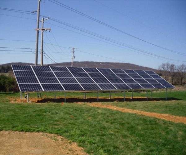 mounted solar panels